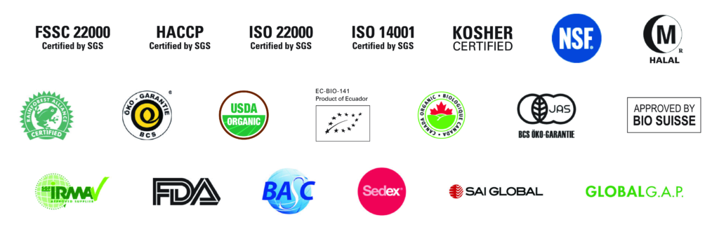 ALCA - Certifications
